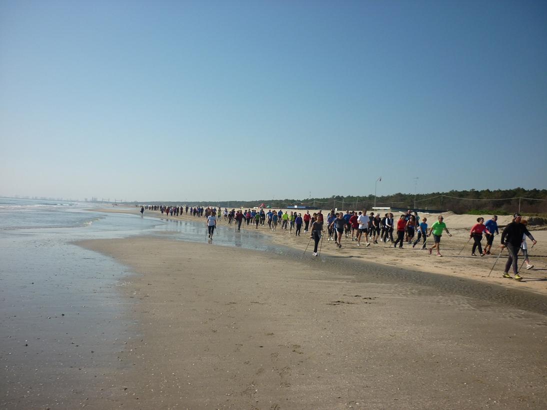 Nordic walking in tour il primo campionato di nordic walking nazionale 2 tappa campionato - Bagno oasi marina di ravenna ...