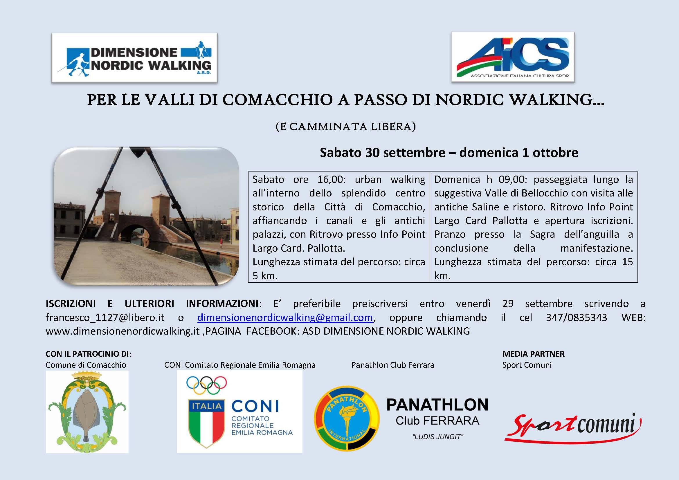 Nordic Walking Vicenza Calendario.Nordic Walking In Tour Il Primo Campionato Di Nordic Walking